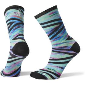 Smartwool PhD Run Ultra Light Print Crew Socks Damen capri